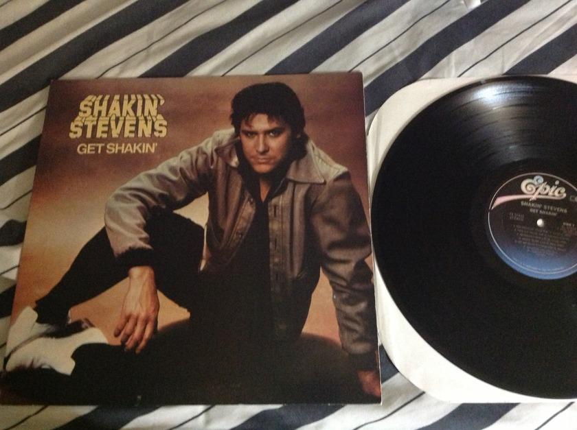 Shankin Stevens - Get Shakin' LP NM CX Encoded