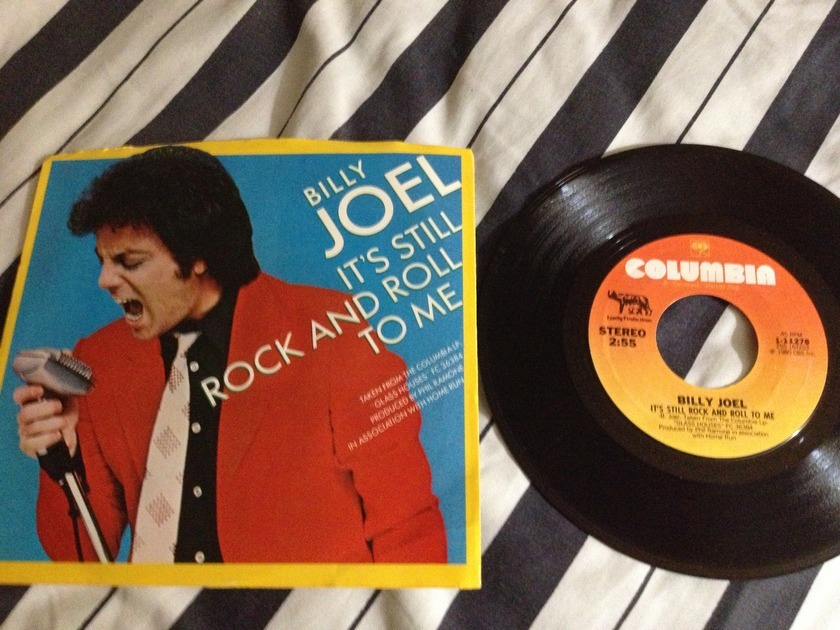 Billy Joel - It's Still Rock N Roll To Me 45 With Picture Sleeve