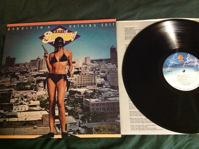 David Bromberg Band - Bandit In A Bathing Suit LP NM