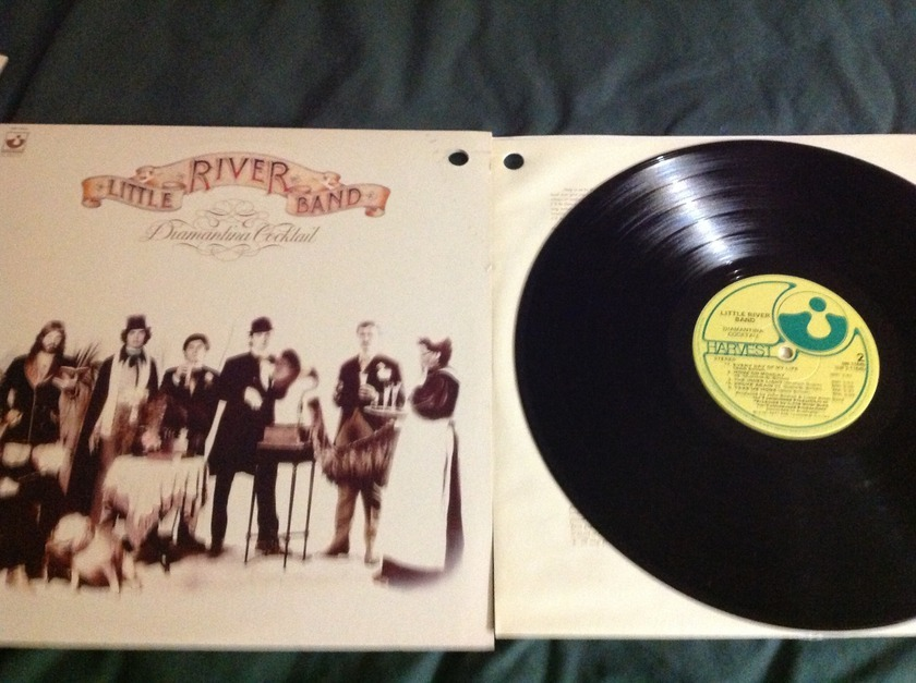 Little River Band - Diamantina Cocktail LP NM Harvest Label Wally Cut