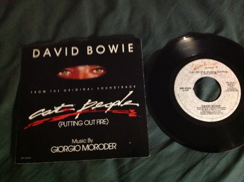 David Bowie - Cat People(Putting Out Fire)   45 With Sleeve NM