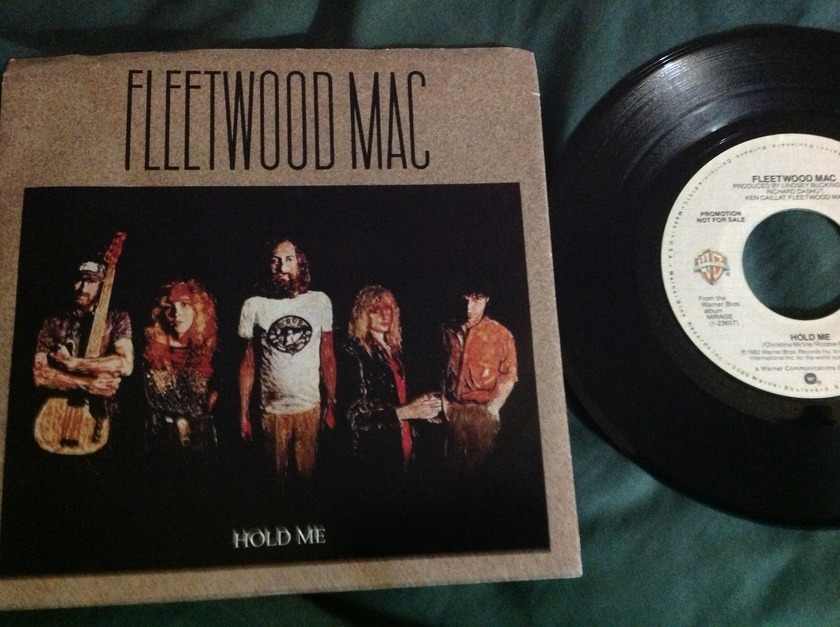Fleetwood Mac - Hold Me Promo 45 Mono/Stereo