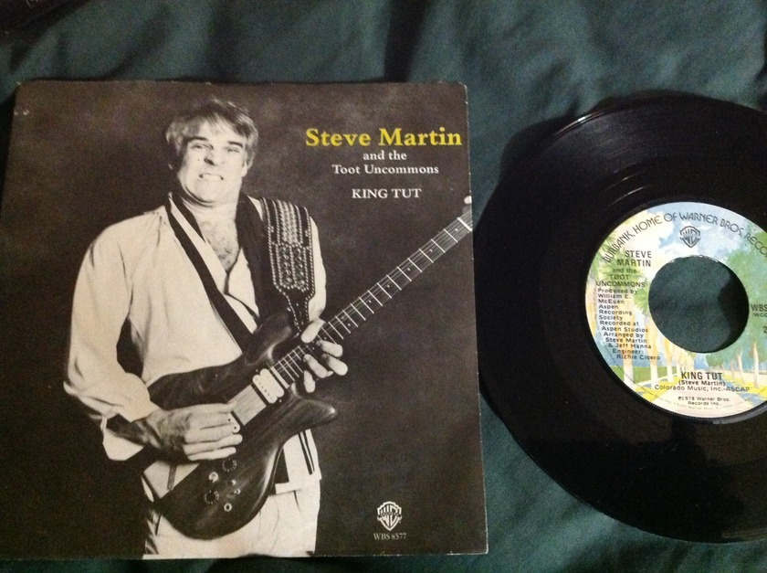 Steve Martin - King Tut 3 Track EP With Sleeve NM