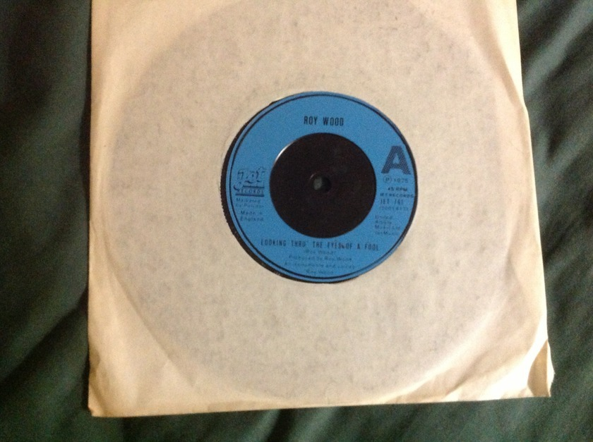 Roy Wood - Looking Thru The Eyes Of A Fool Jet Label UK 45 NM