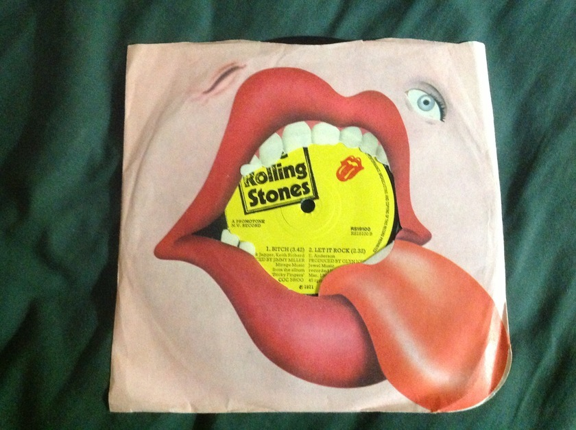 Rolling Stones - Brown Sugar 3 Track EP UK 1971