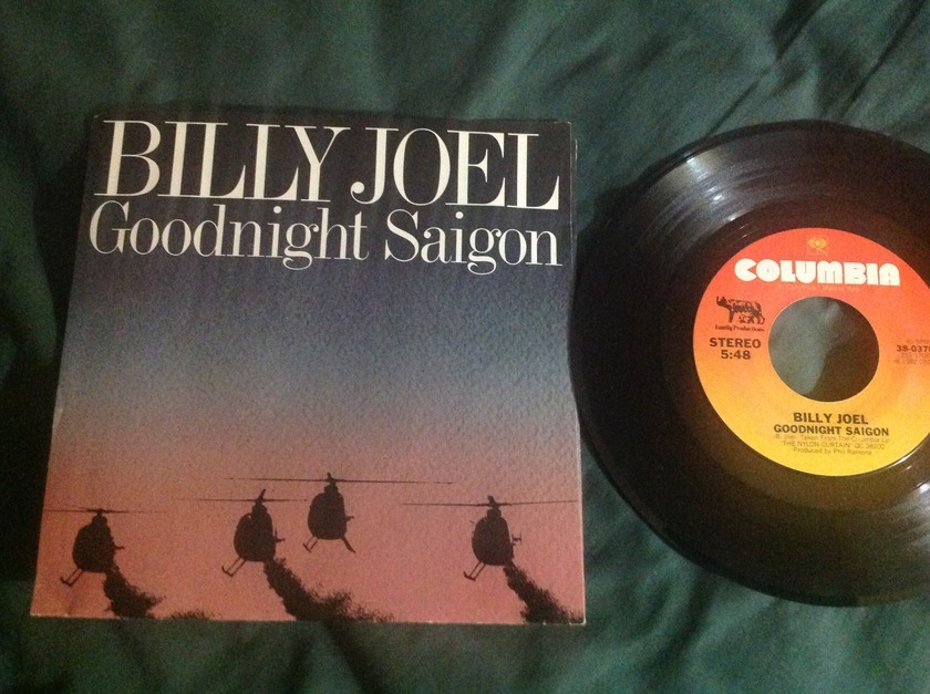 Billy Joel - Goodnight  Saigon 45 With Sleeve