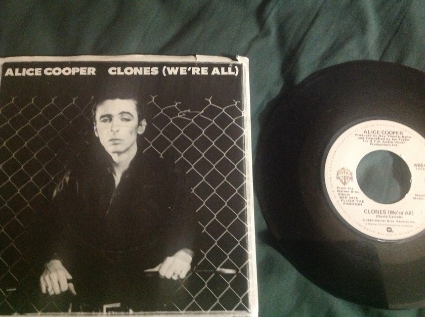 Alice Cooper - Clones 45 With Sleeve