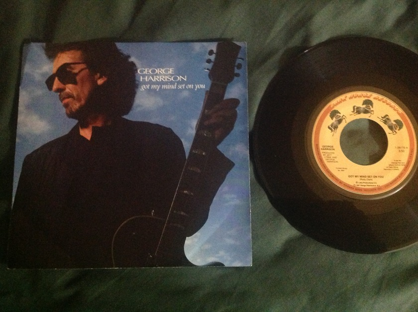 George Harrison - Got My Mind Set On You 45 With Sleeve