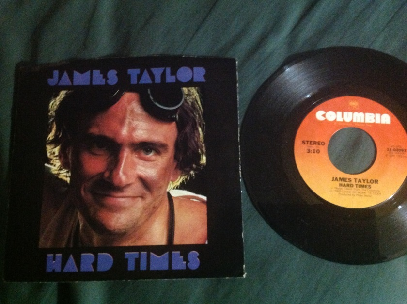 James Taylor - Hard Times 45 With Sleeve