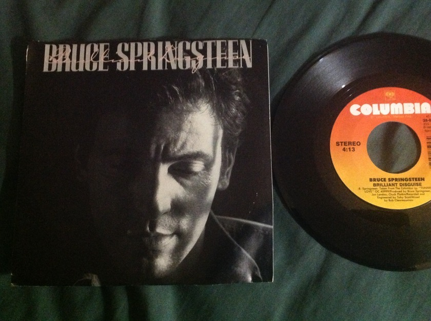 Bruce Springsteen - Brilliant Disguise 45 With Sleeve