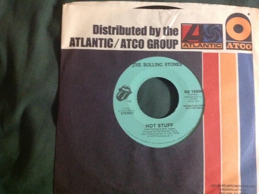 Rolling Stones - Hot Stuff Promo 45 NM