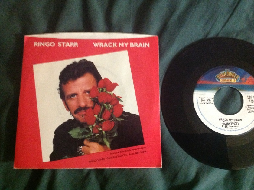 Ringo Starr - Wrack My Brain 45 With Sleeve