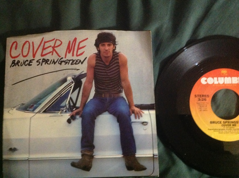 Bruce Springsteen - Cover Me 45 With Sleeve