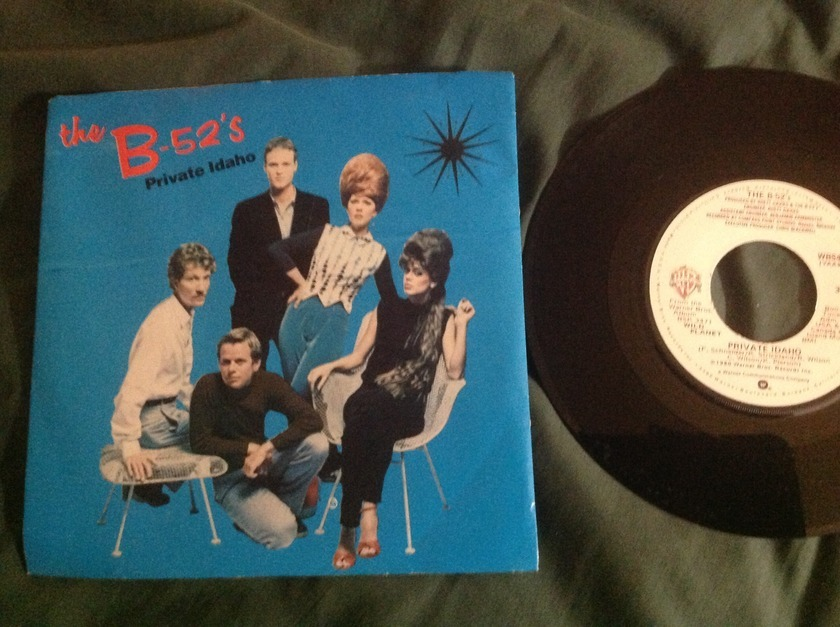 The B-52's - Private Idaho 45 With Sleeve