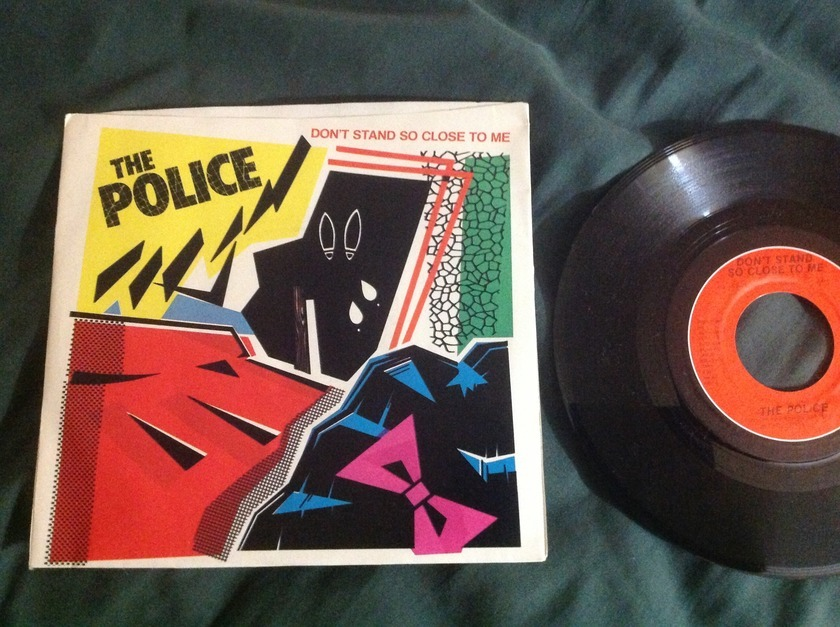 The Police - Don't Stand So Close To Me 45 With Sleeve