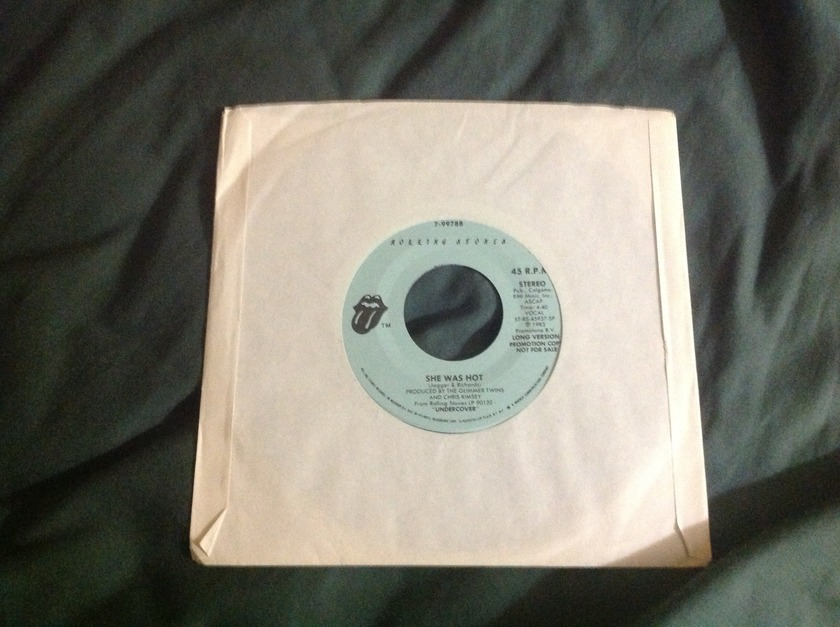 Rolling Stones - She Was Hot Promo 45 Long/Short Version NM