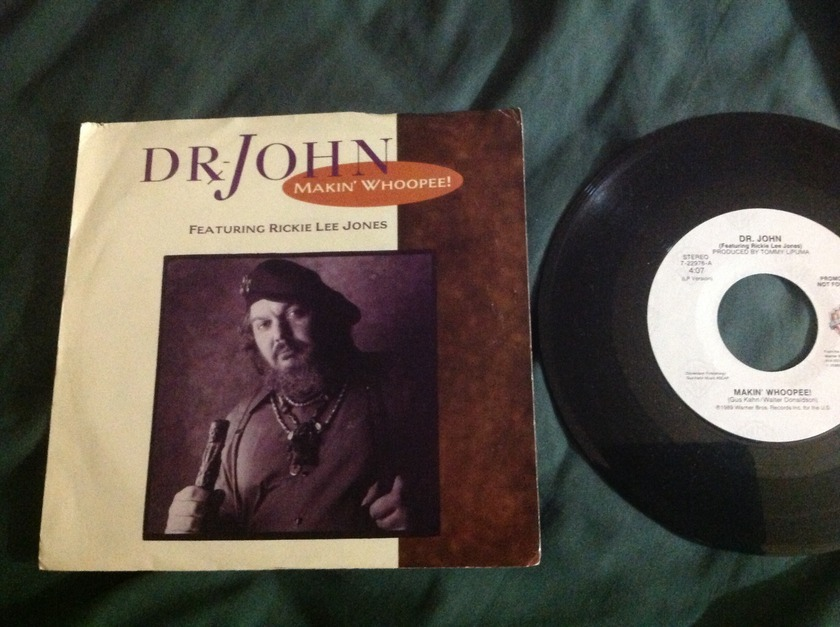 Dr. John with Rickie Lee Jones - Makin' Whoopee! Promo 45 With Sleeve