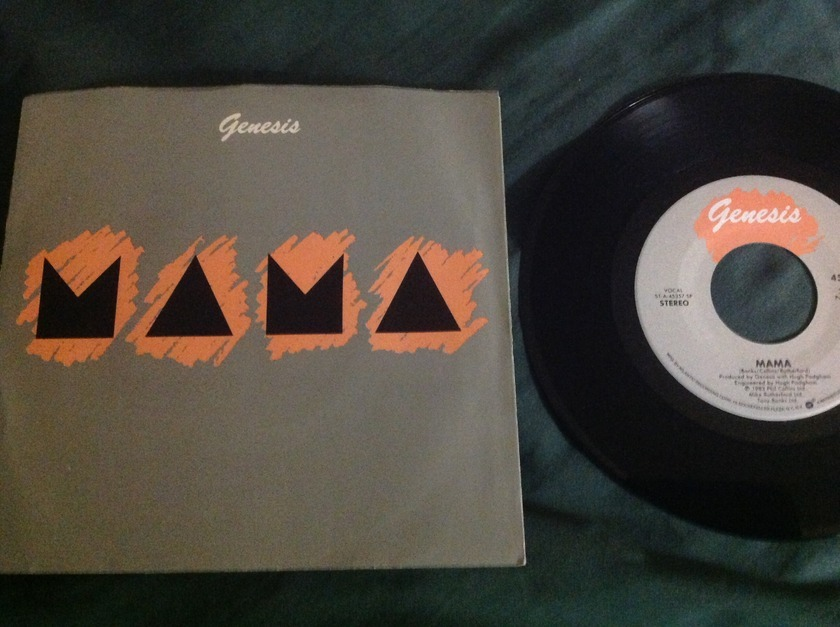 Genesis - Mama 45 With Sleeve