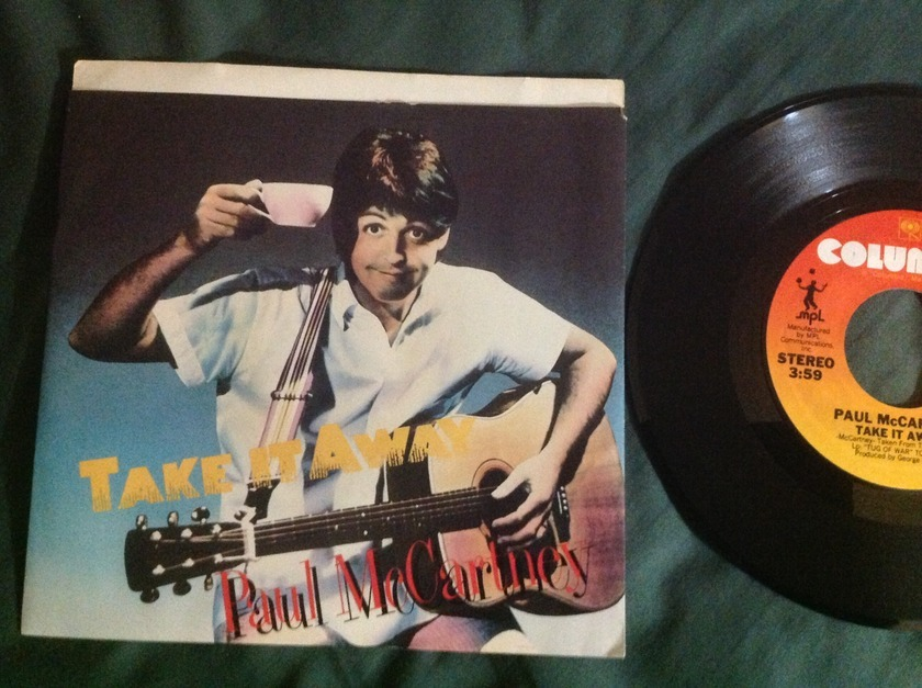 Paul McCartney - Take It Away 45 With Sleeve
