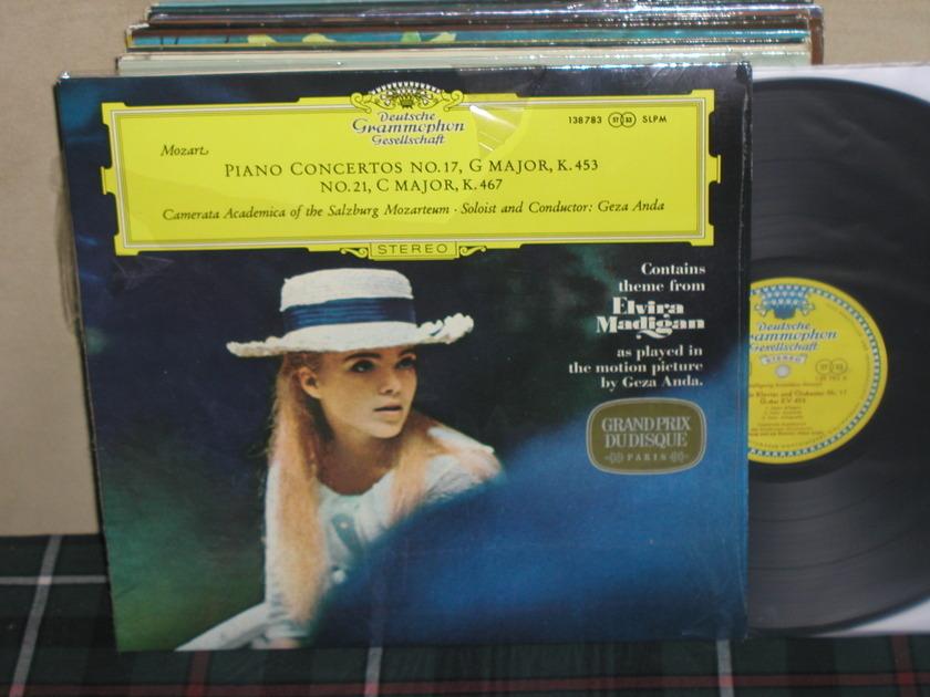 """Geza Anda/CAotSM - Mozart Ctos 17/21 """"Elvira Madigan""""  DGG TULIP Still in shrink STEREO LP"""