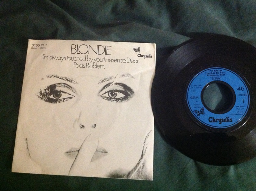 Blondie - (I'm Always Touched By Your)Presence Dear 45 With Sleeve French Pressing NM