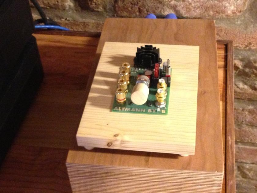 Altmann BYOB amplifier AS NEW!