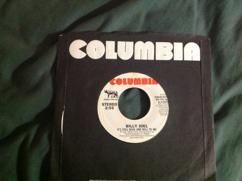 Billy Joel - It's Still Rock N Roll To Me Promo 45 NM
