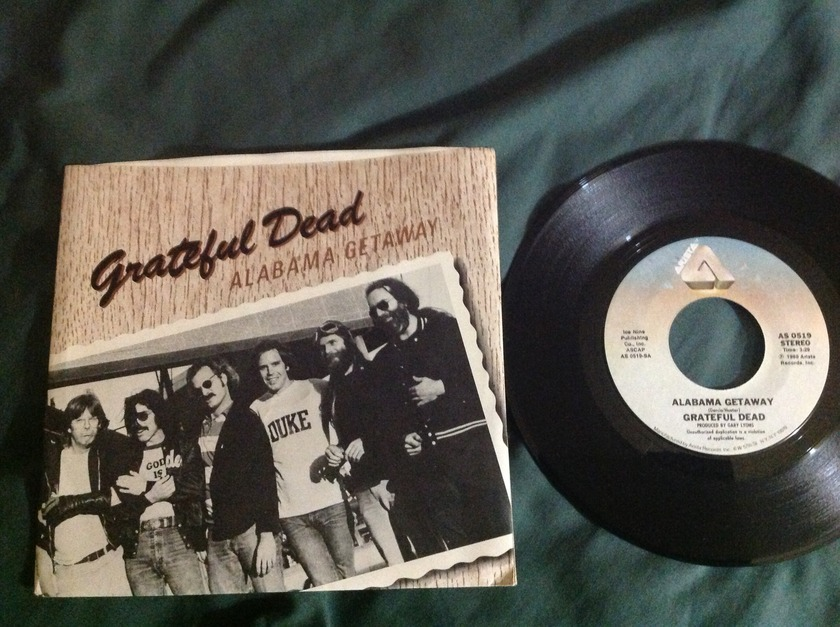 Grateful Dead - Alabama Getaway 45 With Sleeve,NM
