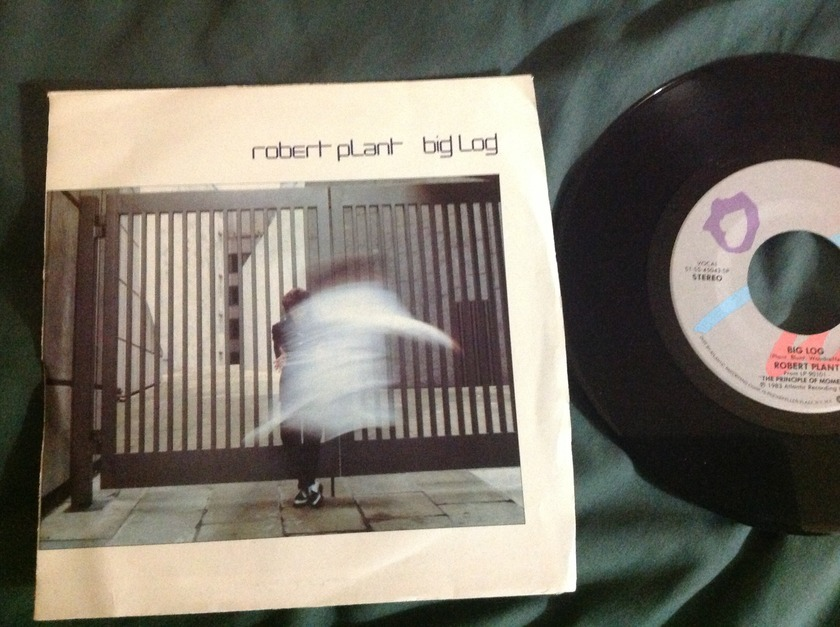 Robert Plant - Big Log/Far Post 45 With Sleeve NM