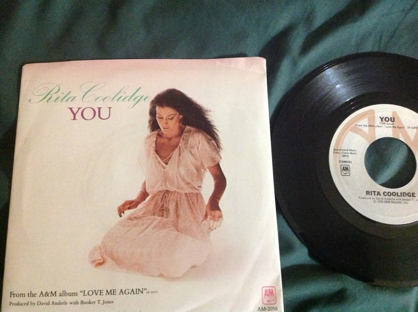 Rita Coolidge - You 45 With Sleeve NM