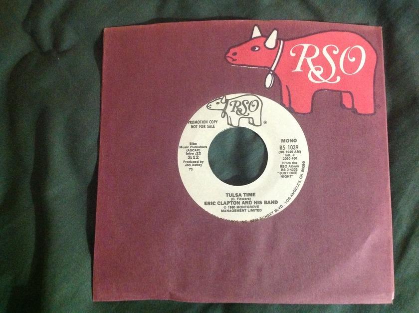 Eric Clapton - Tulsa Time Promo 45 Mono/Stereo NM