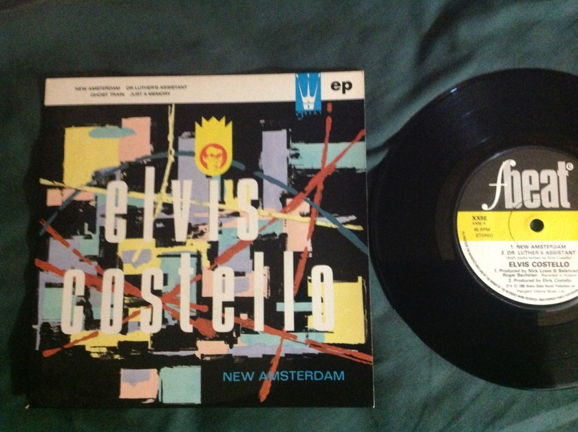Elvis Costello - New Amsterdam UK 4 Track EP NM