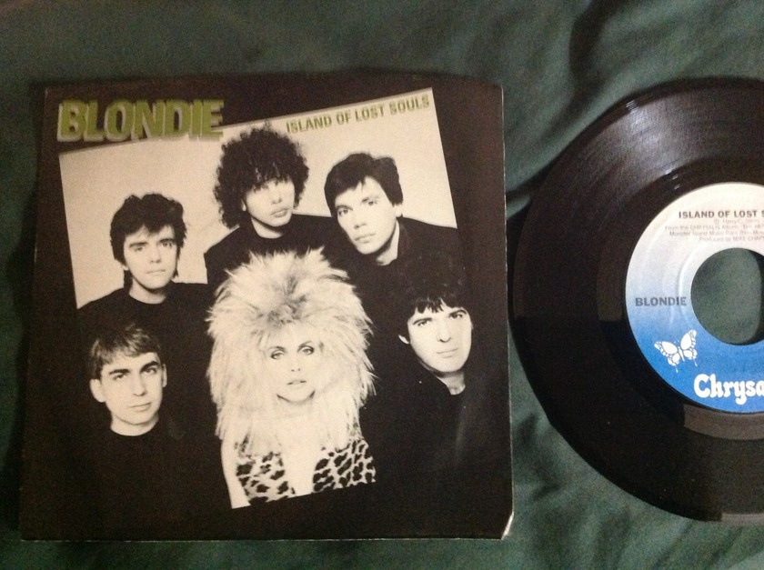 Blondie - Islands Of Lost Souls 45 With Sleeve