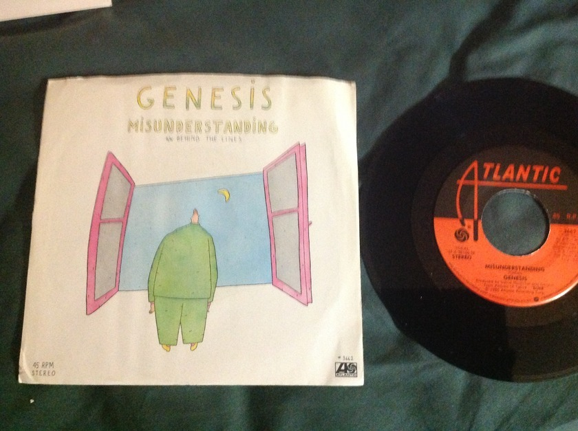 Genesis - Misunderstanding  45 With Sleeve