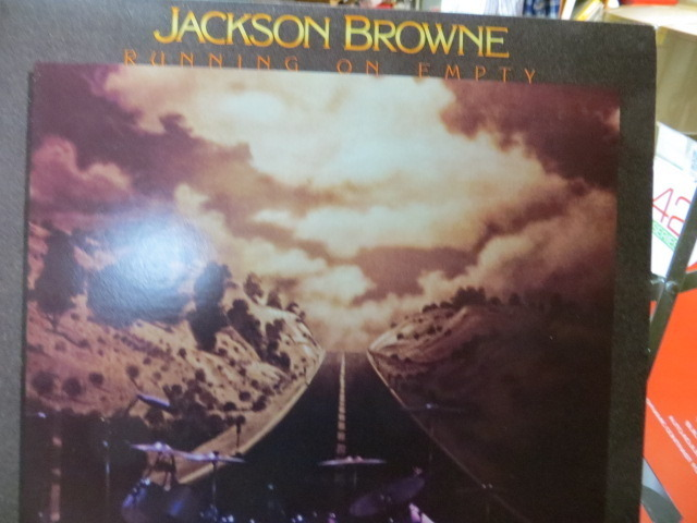 JACKSON BROWNE - RUNNING ON EMPTY BOOKLET INCLUDED