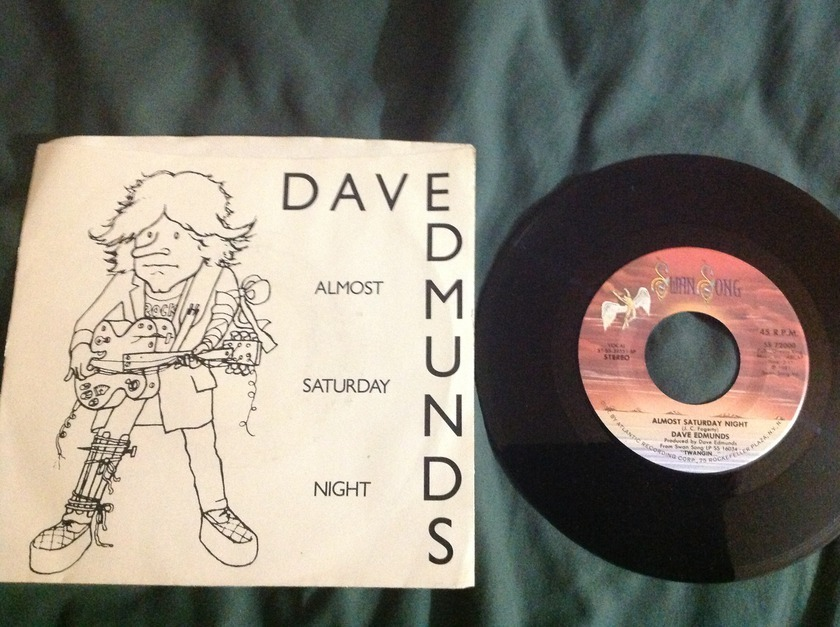David Edmunds - Almost Saturday Night 45 With Sleeve NM