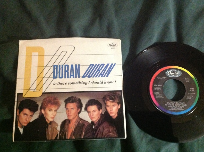 Duran Duran - Is There Something I Should Know? 45 With Sleeve