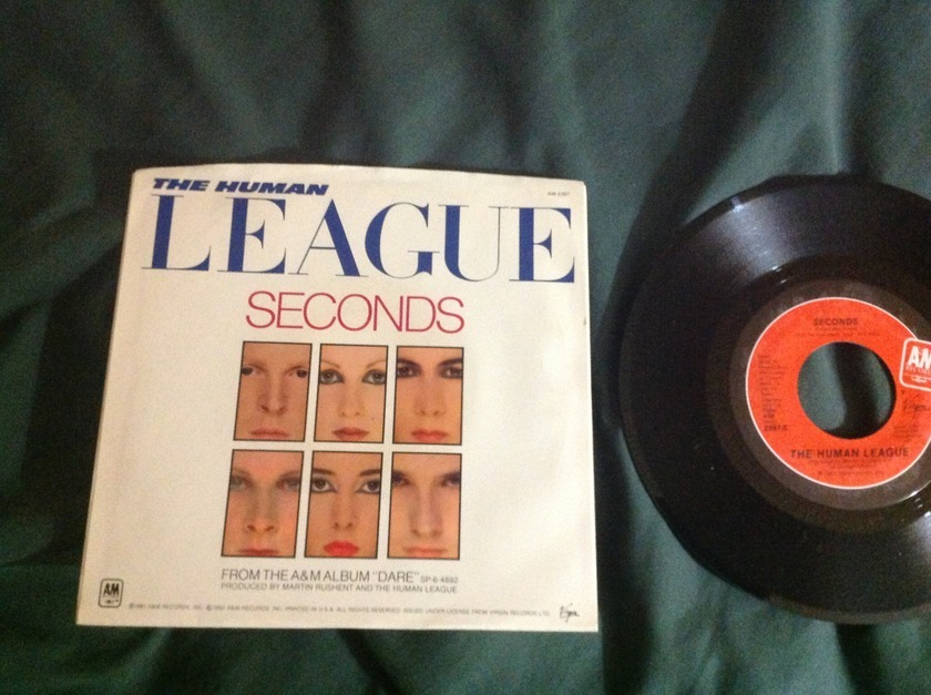 Human League - Don't You Want Me 45 With Sleeve