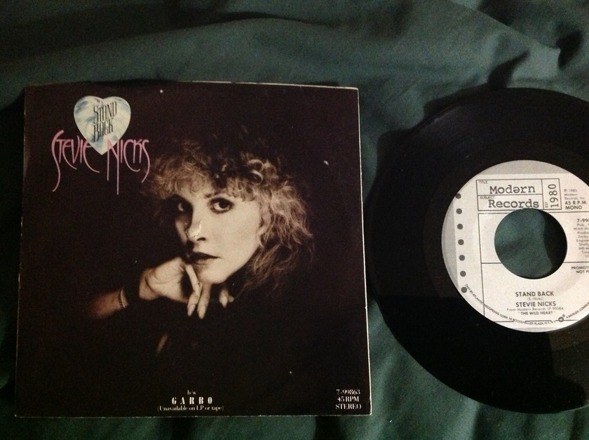 Stevie Nicks - Stand Back Promo 45 With Sleeve,