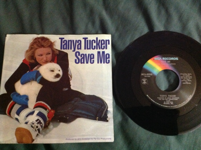 Tanya Tucker - Save Me 45 With Sleeve