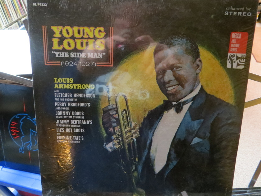 "LOUIS ARMSTRONG - YOUNG LOUIS ""THE SIDE MAN"" 1924 - 1927 SEALED"
