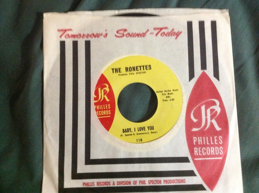 The Ronettes - Baby,I Love You Phillies Records 45 NM