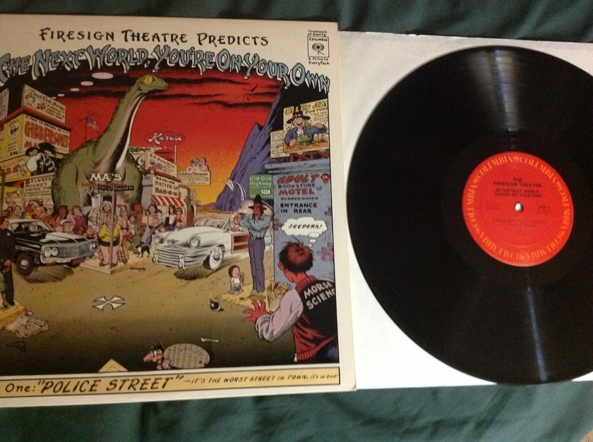 Firesign Theatre - In The Next World You're On Your Own LP NM