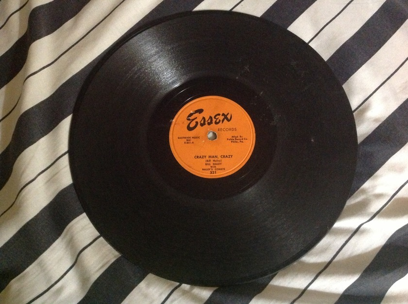 Bill Haley - Crazy Man Crazy Rare 10 Inch 78 RPM