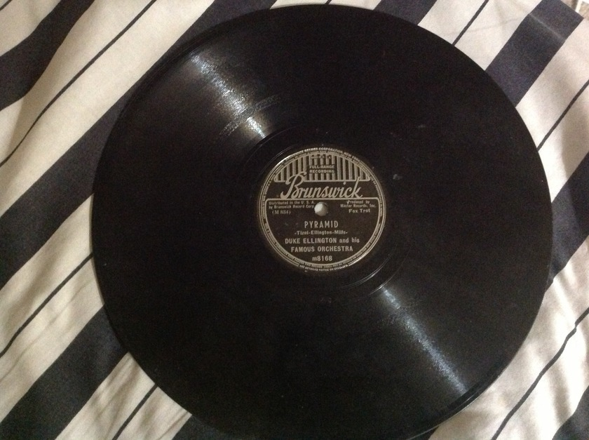 Duke Ellington - Rare 78 RPM Pyramid