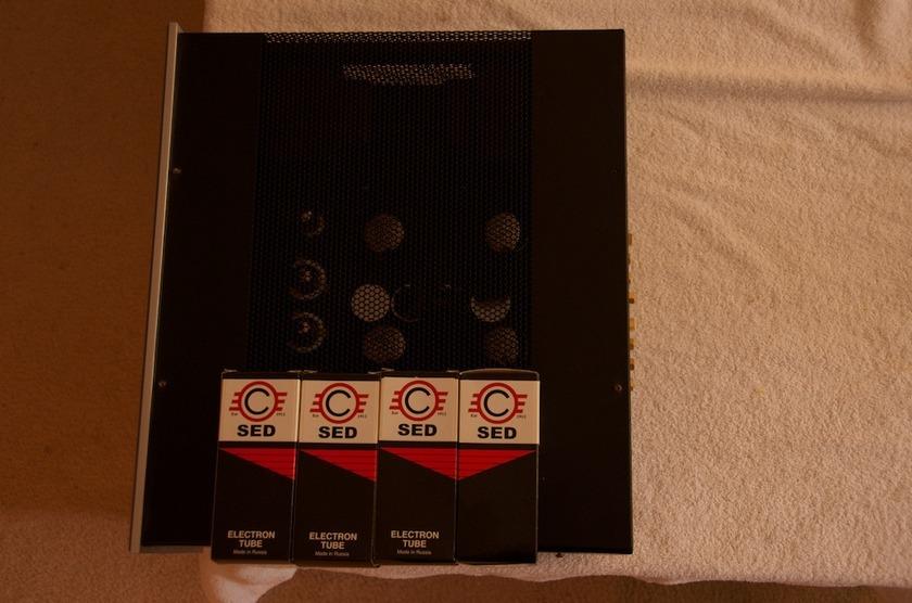Vac Standard 105 / 105 Tube Amplifier