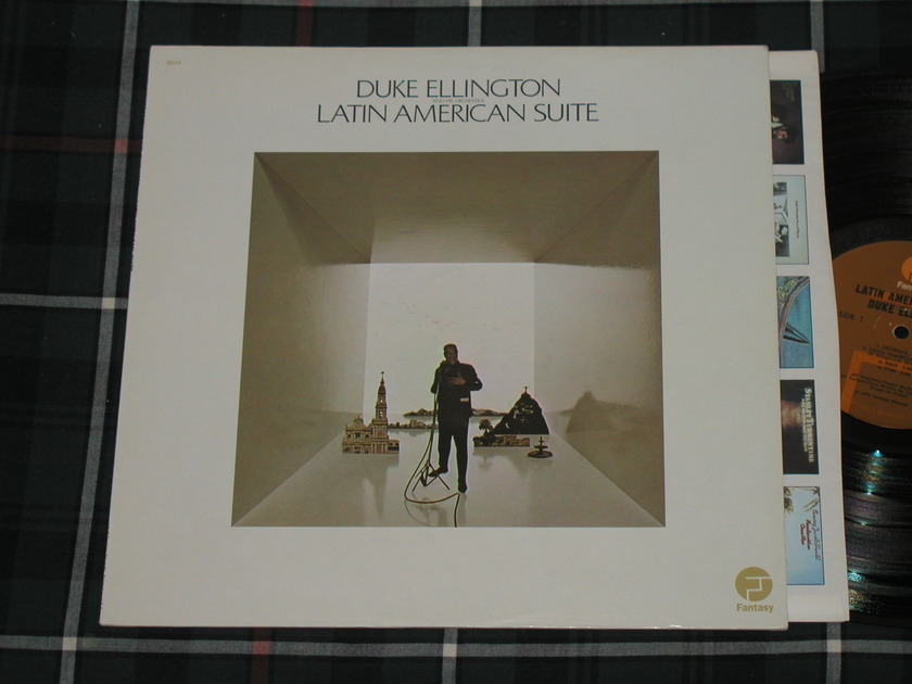 "Duke Ellington And His Orchestra - ""Latin American Suite""   Fantasy Orig. Fantasy F-9640 Early 70's pressing w/tall text labels."