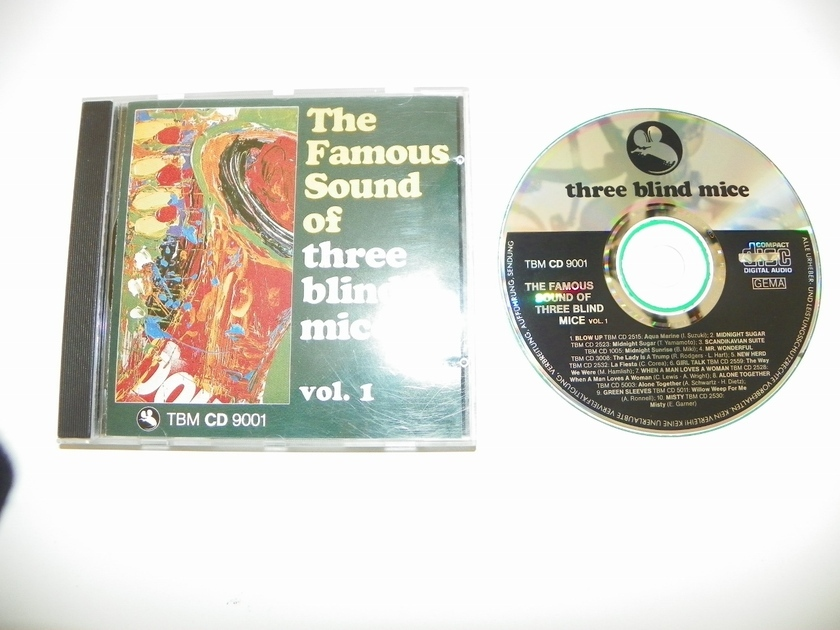 THREE BLIND MICE - THE FAMOUS SOUND OF VOL1 TDM CD 9001