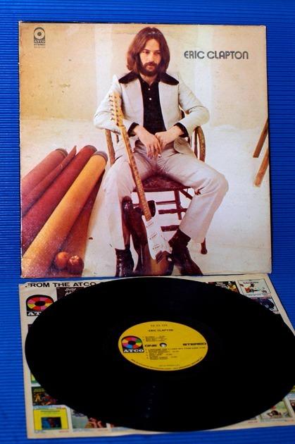 """ERIC CLAPTON  - """"Eric Clapton"""" - ATCO 1970"""